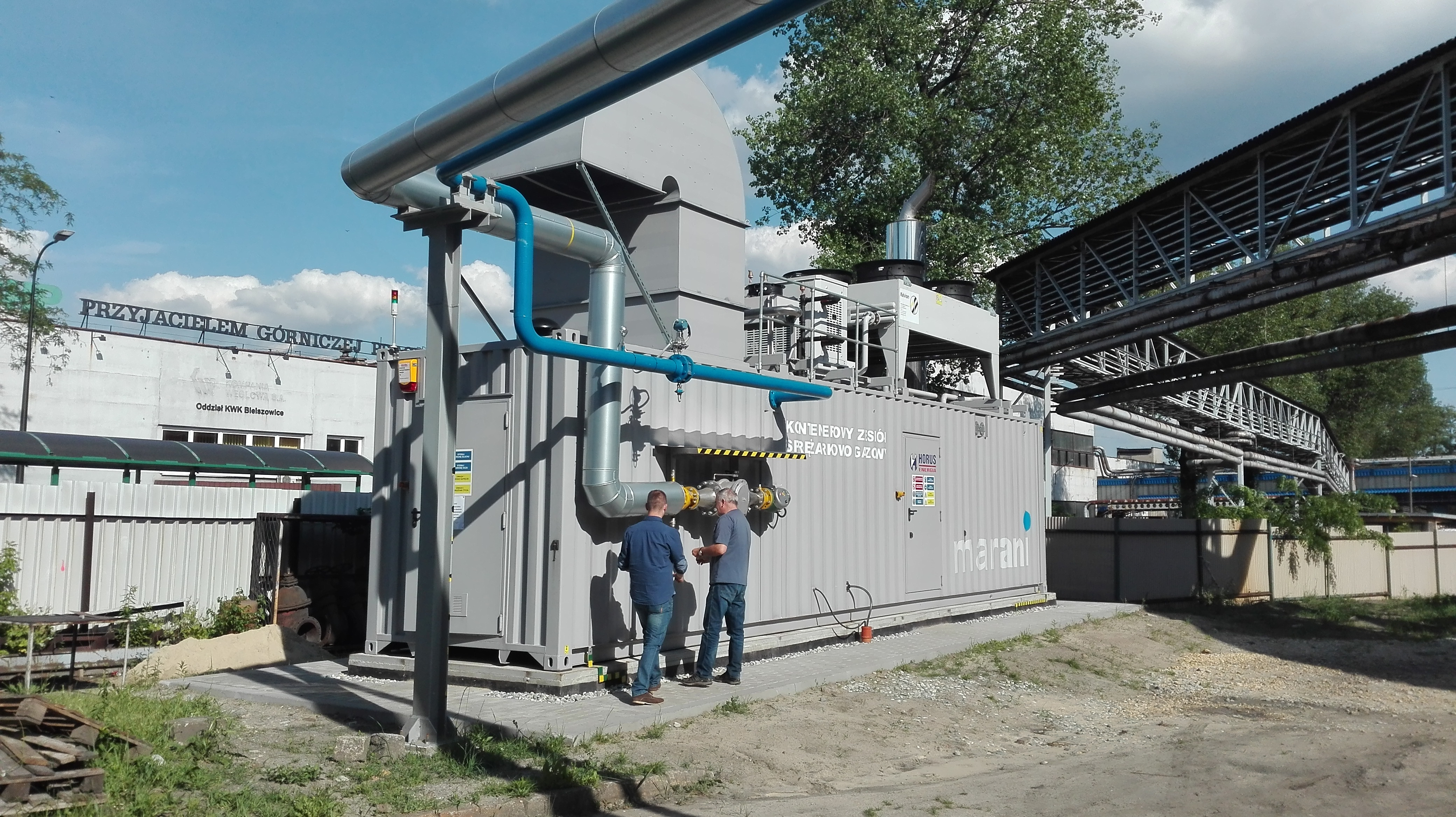 HORUS – ENERGIA solution for coal mines – an engine fueled by coal